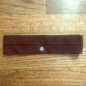Lululemon Black Headband OS